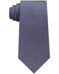 Michael Kors - Circle Neat Silk Tie - Lyst