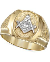 Macy's - Mason Ring In 10k Gold - Lyst