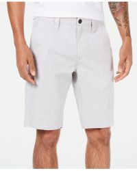 INC International Concepts - Slim-fit Flat-front Shorts, Created For Macy's - Lyst