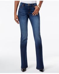 Kut From The Kloth - Natalie Curvy-fit Admiration Wash Bootcut Jeans, Only At Macy's - Lyst