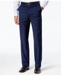 Sean John - Men's Classic-fit Stretch High Blue Glen Plaid Suit Pants - Lyst