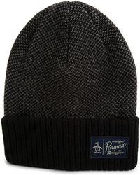 Original Penguin - Birdseye Knit Watchcap - Lyst