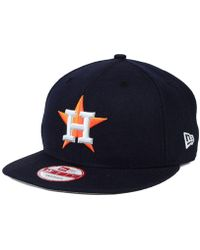 online retailer 6e2ac 42830 KTZ Houston Astros Mlb Cooperstown 59fifty Cap in Blue for Men - Lyst