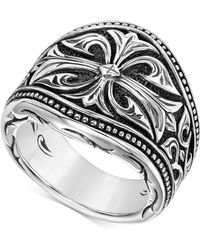 Scott Kay - Men's Engraved Ring In Sterling Silver - Lyst