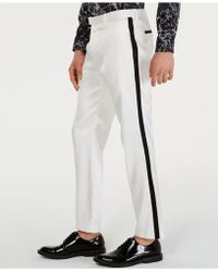 INC International Concepts - Slim-fit Tuxedo Trousers, Created For Macy's - Lyst