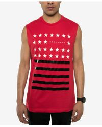 Sean John - Graphic-print Muscle T-shirt - Lyst