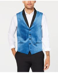 INC International Concepts - Party Velvet Slim-fit Vest, Created For Macy's - Lyst