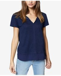 Sanctuary - V-neck T-shirt - Lyst