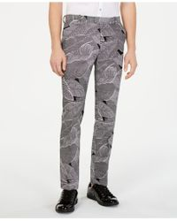INC International Concepts - Makani Slim-fit Linen Trousers, Created For Macy's - Lyst