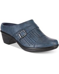 Easy Street Becca Mule(Women's) -Black Polyurethane Sale Low Price Fee Shipping rjdDrs
