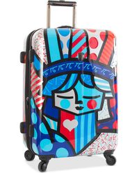 "Heys - Britto Freedom 26"" Expandable Hardside Spinner Suitcase - Lyst"