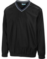 PGA TOUR - Men's Elements Long Sleeve V-neck Piped Windshirt - Lyst