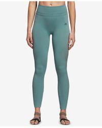 7c5ab6b2fde adidas Warp Knit Tights in Blue - Lyst