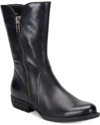 Born - Ivory Mid-shaft Boots - Lyst