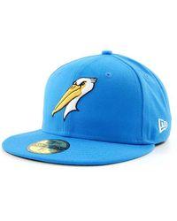 KTZ - Myrtle Beach Pelicans Milb 59fifty Cap - Lyst