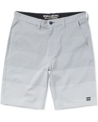 "Billabong - Crossfire Striped 21"" Shorts - Lyst"