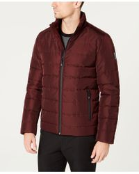 Kenneth Cole - Quilted Puffer Coat - Lyst