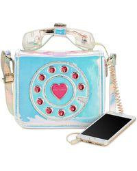 Betsey Johnson - Mini Phone Crossbody - Lyst