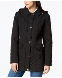 Jones New York - Contrast-quilted Jacket - Lyst