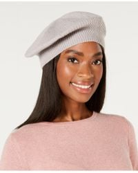 Charter Club - Rhinestone Cashmere Beret, Created For Macy's - Lyst