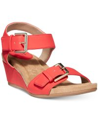 Giani Bernini - Bryana Memory Foam Wedge Sandals, Created For Macy's - Lyst