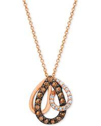 Le Vian | Chocolate Diamond (1/3 Ct. T.w.) Pendant In 14k Rose Gold | Lyst