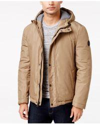 Cole Haan - Men's Hooded Puffer Jacket - Lyst