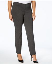 Alfani - Plus Size Skinny Pants - Lyst