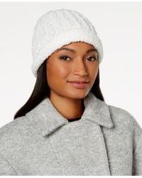 INC International Concepts - Chenille Knit Beanie - Lyst