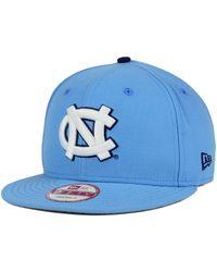 buy popular 33838 95eb6 KTZ North Carolina Tar Heels High Risk 59Fifty Cap in Gray for Men - Lyst