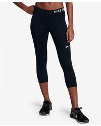 Nike - Pro Dri-fit Capri Training Leggings - Lyst