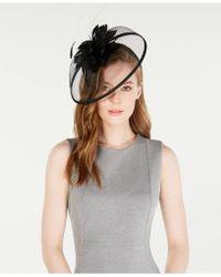 August Accessories - Feather Fascinator - Lyst
