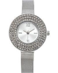Charter Club - Women's Silver-tone Bracelet Watch 28mm - Lyst