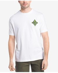 G.H.BASS - Men's Explorer Graphic-print Logo Cotton T-shirt - Lyst
