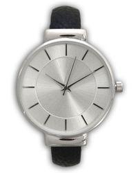 Olivia Pratt - Metallic Bangle Watch - Lyst