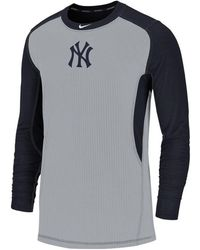b0ec47097 Nike - New York Yankees Authentic Collection Game Top Pullover - Lyst
