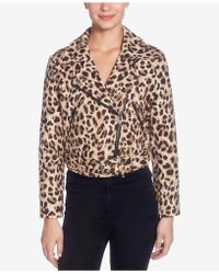Catherine Malandrino - Veruca Leopard-printed Moto Jacket - Lyst