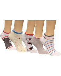 Disney | Women's 6-pk. Assorted Candy No-show Socks | Lyst