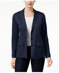 Style & Co. | Three-button Blazer | Lyst