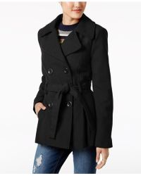 Rampage - Double-breasted Trench Coat - Lyst