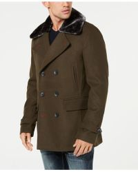 INC International Concepts - Double-breasted Pea Coat, Created For Macy's - Lyst