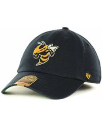 affordable price retail prices the latest 47 Brand Synthetic Repetition Tech Clean Up Cap in Black for Men ...