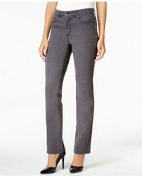 Charter Club - Tummy-slimming Straight-leg Jeans, Nantucket Wash - Lyst