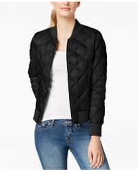 32 Degrees - Quilted Packable Bomber Coat - Lyst
