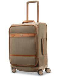 Hartmann - Herringbone Dlx Domestic Carry-on Expandable Spinner Suitcase - Lyst