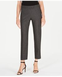 Anne Klein - Straight-leg Pants, Created For Macy's - Lyst