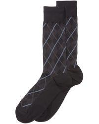 Perry Ellis - Men's Printed Dress Socks - Lyst