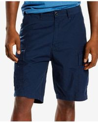 549ad9fc Levi's Carrier Cargo Shorts in Black for Men - Save 29% - Lyst