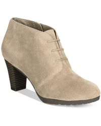 Giani Bernini | Orlaa Lace-up Booties | Lyst