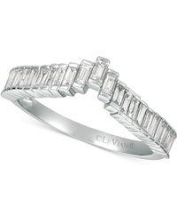 Le Vian - ® Baguette Frenzytm Diamond Ring (1/2 Ct. T.w.) In 14k White Gold - Lyst